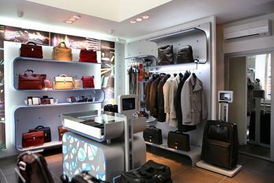 Primo store nordamericano per piquadro pambianco news for Negozi di arredamento del distretto di design dallas